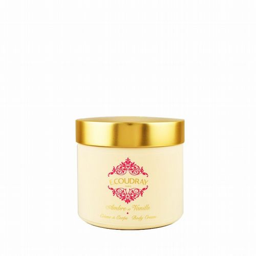 E Coudray - Rich Body Cream - Ambre et Vanille 250 ml